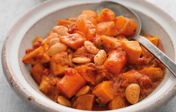 Sweet Potato & Root Vegetable Hotpot