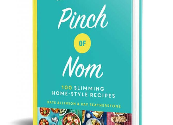 Healthy cookery book Pinch Of Nom has highest non-fiction sales ever for a single week!