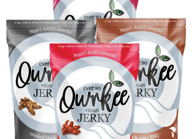 Win a month's supply of Qwrkee Vegan Jerky!
