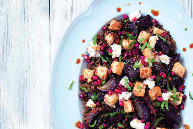 Roasted Beetroot & Celeriac Salad