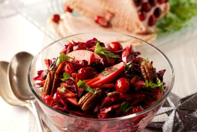 Berryworld Cranberry & Cabbage Winter Slaw