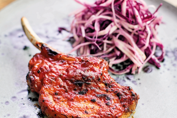 Tom Kerridge's Sticky Pork Chops