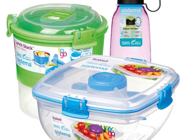 Win a Sistema lunch box set!