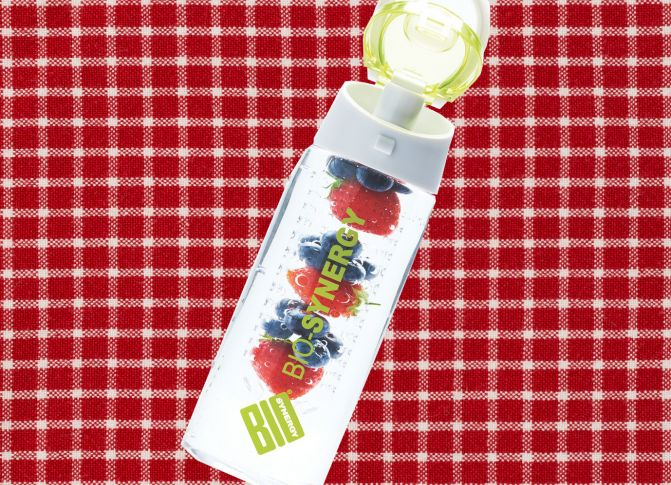 Win a Bio-Synergy fruit infuser water bottle