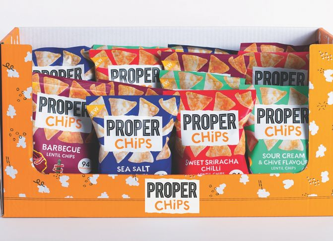 Win a month's supply of PROPERCHIPS