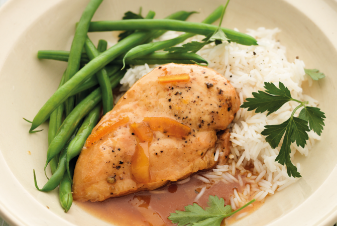 Orange & Ginger Chicken
