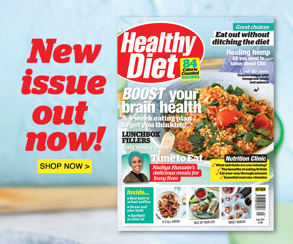 The September issue of Healthy Diet is out now!