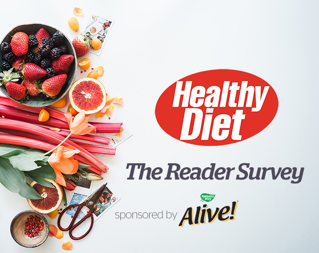 Enter the Healthy Diet reader survey