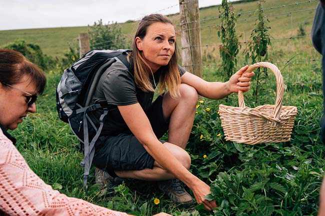 2. Foraging with totally wild cooking experiences