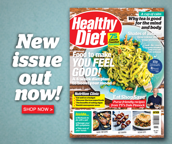 The November issue of Healthy Diet is out now!
