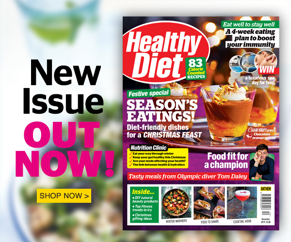 The December issue of Healthy Diet is out now!