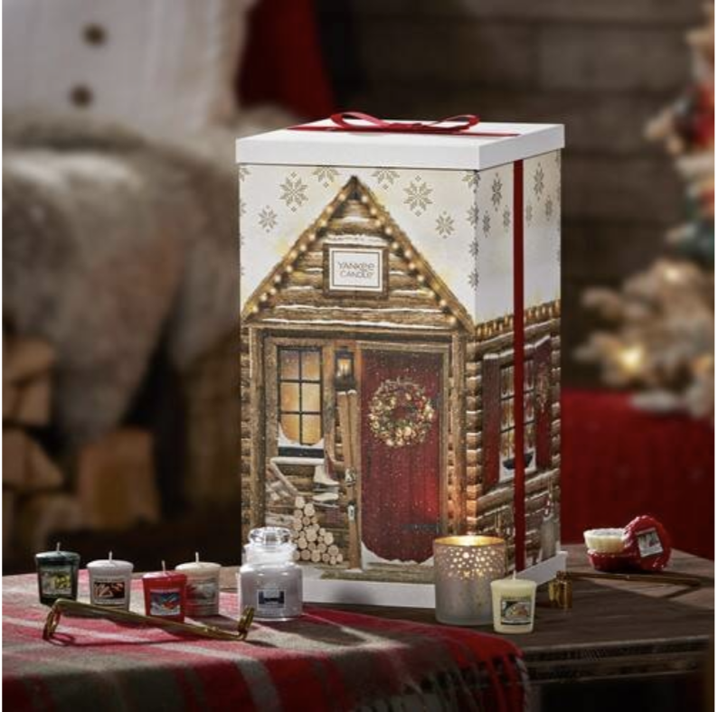Yankee Candle Tower advent calendar