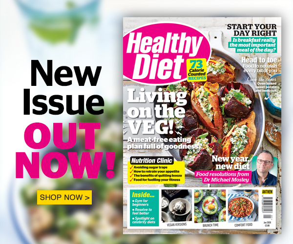 The January issue of Healthy Diet is out now!