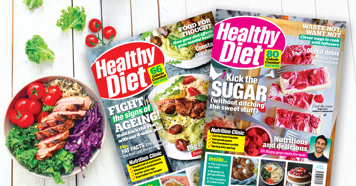 Healthy Diet issue 38 on sale now!